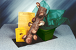 Shiitake Mushroom Log Kit with its own Tray for Soaking, Fruiting and Resting the Log