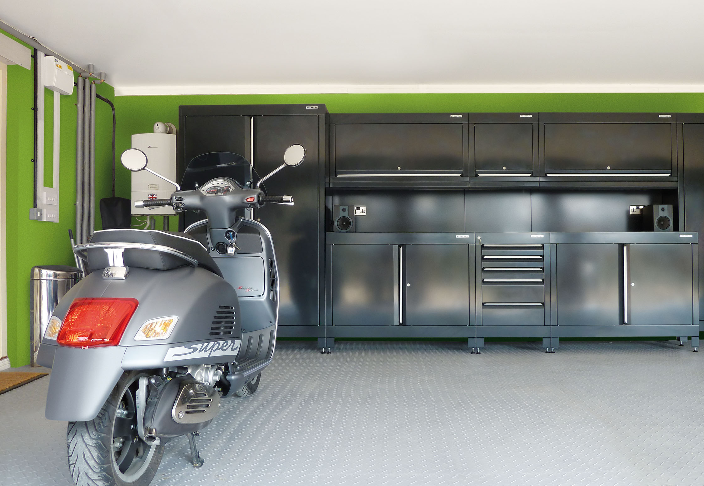 For the person who has everything somewhere to store it Unique garage designs