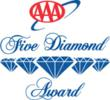Four and Five Diamond Awards: Stein Eriksen Lodge, The Saint Paul Hotel, Hotel DeAnza, Chaminade Resort & Spa, Rocky Gap Lodge & Golf Resort, and The Inn at Dos Brisas.