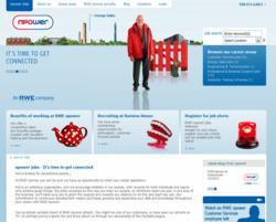 RWE npower career website