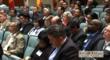 Business leaders listening to Holly Vineyard speaking