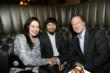 Filipina Actress and TV Host, Ruffa Gutierrez with Manny Pacquiao and CieAura President Jerry Yerke for the famous boxer's Post-Fight Celebration and Charity Event at the Supperclub Los Angeles