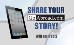 Why Do You GoAbroad iPad 2 Giveaway from GoAbroad screenshot