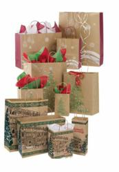 Holiday Shopping Bags from Store Supply Warehouse