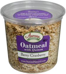 Berry Cranberry Oatmeal with Quinoa