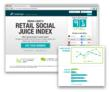 Media Logic's Retail Social Juice Index
