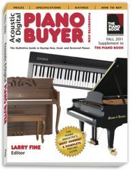 Fall 2011 Piano Buyer