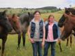 "Jennifer Kunz, Duchess Sanctuary's Ranch Manager: ""We are so very grateful for this generous donation from Alexandra and her foundation. We are proud of Alexandra's work and honored by her continued support. The funds will be used to provide care for the more than 100 beautiful former PMU mares and their offspring that call Duchess home.""  (Photo credit: Charity Book Series®, Inc.)"