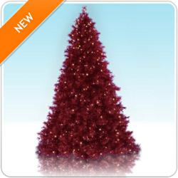 Really Red Christmas Tree