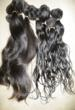 Virgin Indian Hair- Shown Wet and Dry