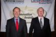 TWB's Braithwaite and North Loudoun's Troth at award ceremony in Chicago, IL, for TWB's ammunition disposal seen at www.TWBDesigns.com