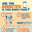 Are You Addicted to Your Mobile Phone? Infographic by Cash Generator