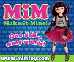 MiM is the first convert-i-doll of her kind!