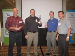 The Winners of the Winscribe Annual Partner Awards 2011