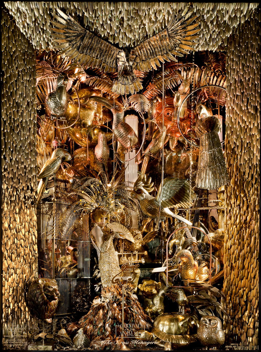 Bergdorf Goodman Unveils 2011 Holiday Windows Quot Carnival Of