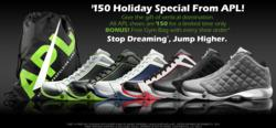 $150 APL Holiday Special And Free Gym Bag