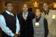 BUILD students with event honoree Daymond John, CEO of FUBU