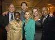 BUILD's founder and CEO, Suzanne McKechnie Klahr, with Boston's Director, Ayele Shakur, and board members.
