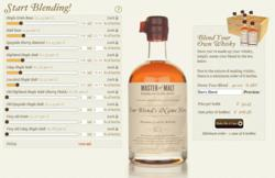Blend Your Own Whisky Service