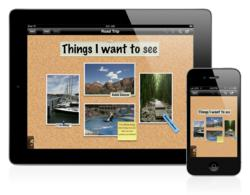 Corkulous idea board for iOS (iPhone, iPad, and iPod touch)