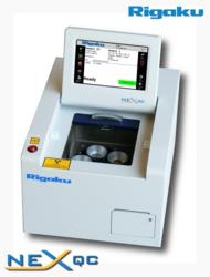 Rigaku NEX QC energy dispersive X-ray fluorescence analyzer brings low cost elemental analysis to your production line.