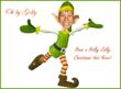 Dancing Elf Cutout (Fun)