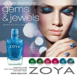 Zoya Nail Polish Gems and Jewels Collection