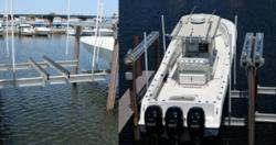 Vertical Boat Lift - Fort Lauderdale Marina