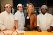 CEO Mrs. Jessica Taft with Chef Horace Perkins and team