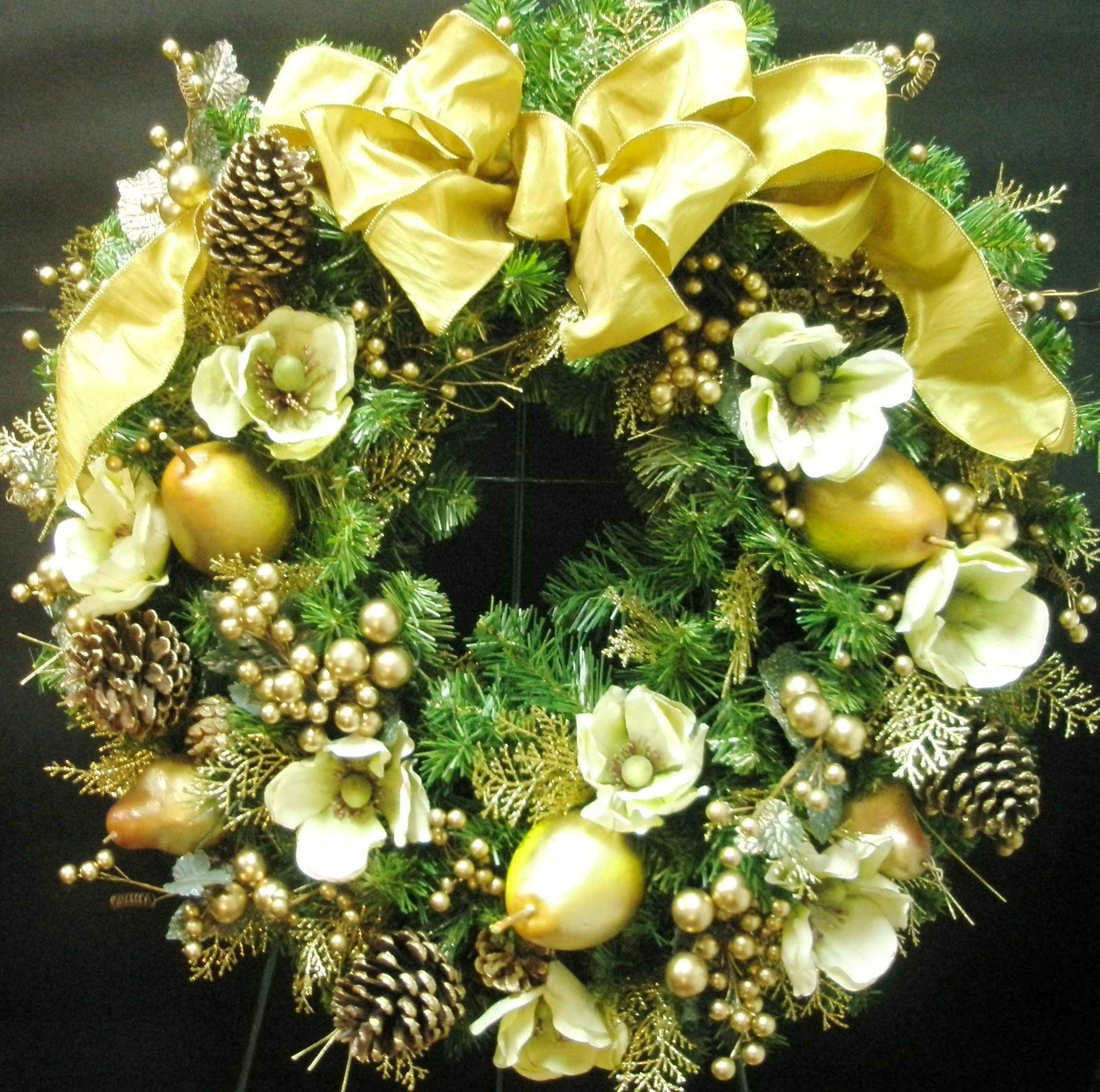 . florist San Francisco Holiday wreaths from Blooming Floral Design