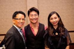 OCKCC Supporters Dr. Peter Newen, Actor Brian Tee, & OCKCC VP & Board Member Dr. Katherine Ahn
