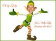 Dancing Elf Cutout (Fun)