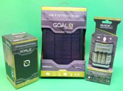 Goal Zero makes our Travel Power Kit for recharging your wireless devices.