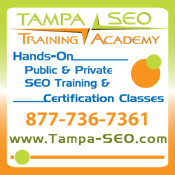 SEO Training by the Tampa SEO Training Academy