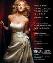 House of Brides Marisa Bridals Trunk Show