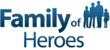 Family of Heroes Logo