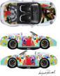 Custom designed Limited Edition Miguel Paredes designed Porsche Speedster to be displayed at Art Basel Events