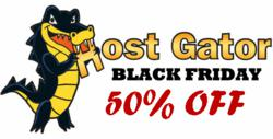 Award Winning Web Hosting Company Announces 50 % Discount on All Hosting Services on the Occasion of Black Friday