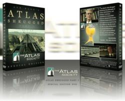 The Atlas Society Special Edition Atlas Shrugged Part 1 DVD