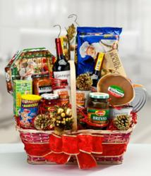 Holiday Gift Basket | daFlores.com