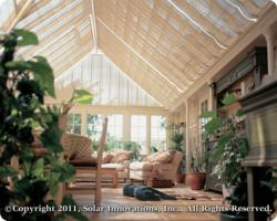 Conservatory Roof Blind Example