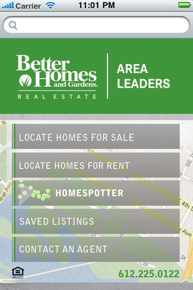 Point And Click: New Mobile App From Better Homes And Gardens Real