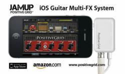 JamUp Guitar App and Interface