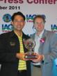 Mayor of City of Pattaya Itthiplome Kunplome with Peter Walton CEO of the International Association of Golf Tour Operators