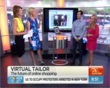 The Virtual Mirror discussed and demo'd live on Sunrise