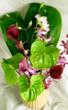 Hawaiian Orchids and Anthuriums