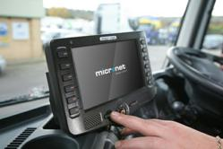 Photo of Micronet's new CE-500 series rugged mobile computer