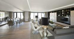 Luxury Penthouse Interior at 88 Quay West