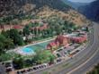 Glenwood Hot Springs is Colorado's largest outdoor mineral springs pool