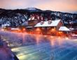 Winter is an especially fun time to visit Glenwood Hot Springs Pool